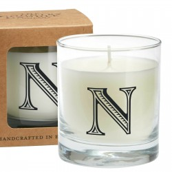 "Candle The Country Candle Glass candle - Letter ""Y"" shop candle"