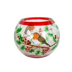 Globe Oiseau de Noël