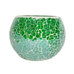Globe Mosaïque Verte