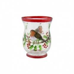 Vase Oiseau de Noël