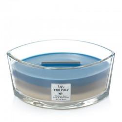 Boîte à bougie classique - Capri Blu