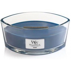River washed Country candle