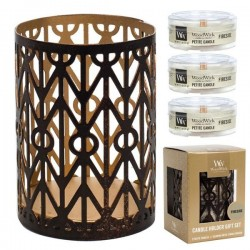 Candle Village Candle Petite Jarre - Coastal Christmas shop candle