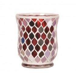Vase Rouge Miroir