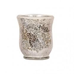 Vase Gold & Silver craquelé