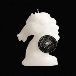 Bougie artisanale cheval blanc