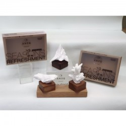 """Candle The Country Candle Glass candle - Letter """"B"""" shop candle"""