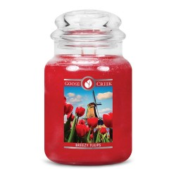 Grande jarre Breezy tulips...