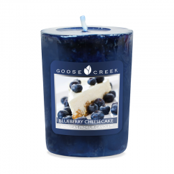 Votive Blueberry Cheesecake...