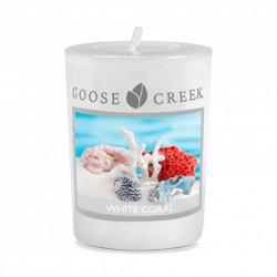 Votive White Coral par...