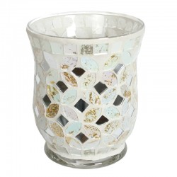 """Candle The Country Candle Glass candle - Symbol """"&"""" shop candle"""