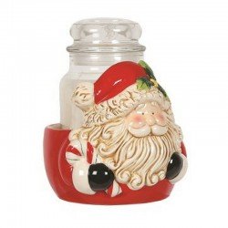 Support Bougie Père Noël